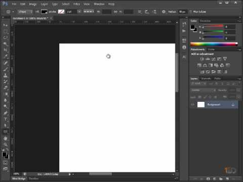 Learn How To Use Oshop For Web Design Basic Tools Panels