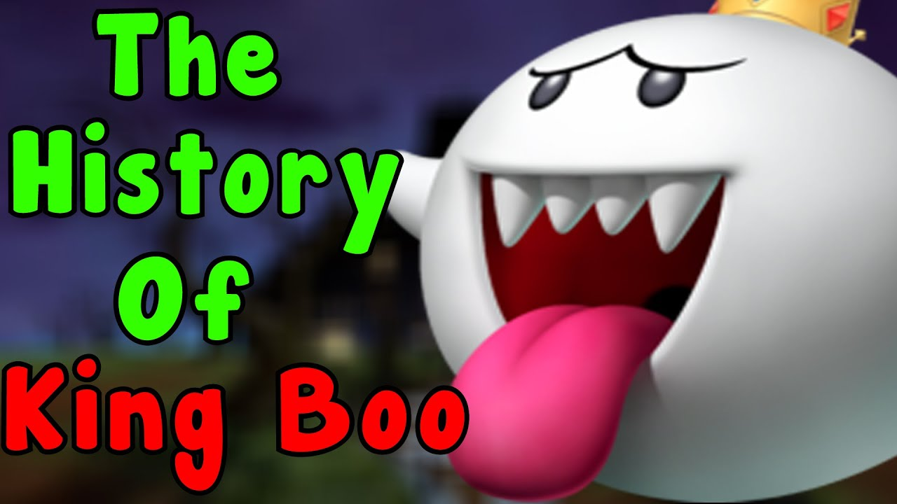 the history of king boo super mario series youtube