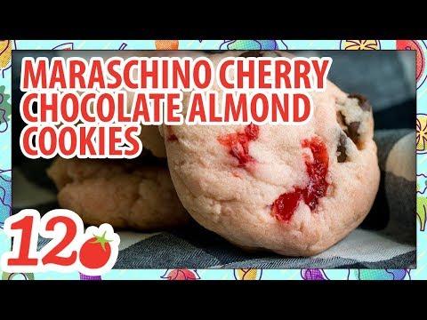 How to Make: Maraschino Cherry Chocolate Almond Cookies