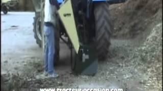 Broyeur Mixte Branches et Végétal NEGRI R130T pour Micro Tracteur ches TDO sarl