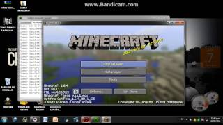 Descargar Minecraft 1.6.4 con Forge y Optifine instalados