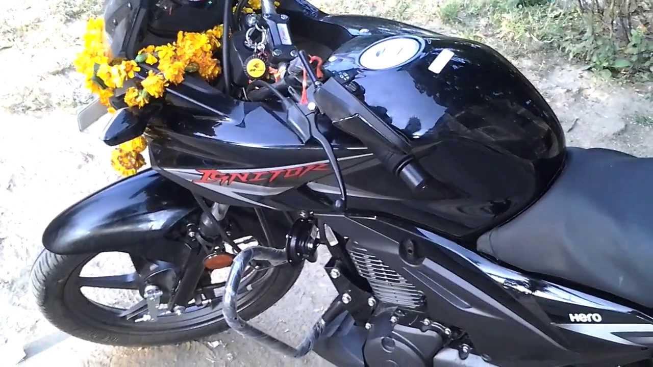 Hero Ignitor 125cc Bike 2013 Youtube