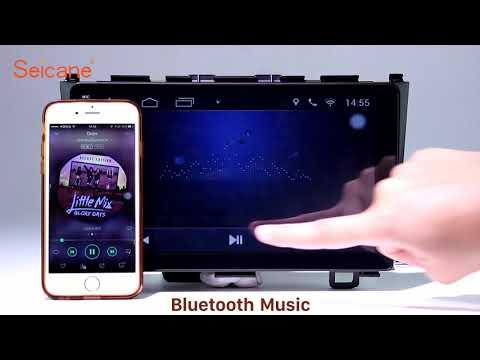 Aftermarket Radio 2006-2011 Honda CRV GPS Navigation Bluetooth Stereo Support OBD2 TPMS