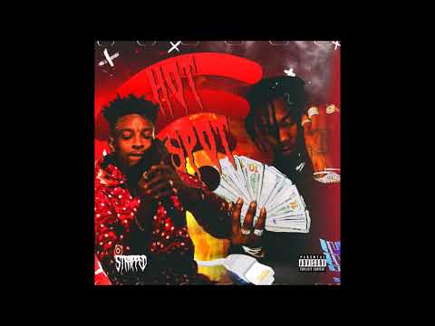 """Offset ft.  21 Savage """"Hot Spot"""" (Prod. by Zaytoven) Official Audio"""