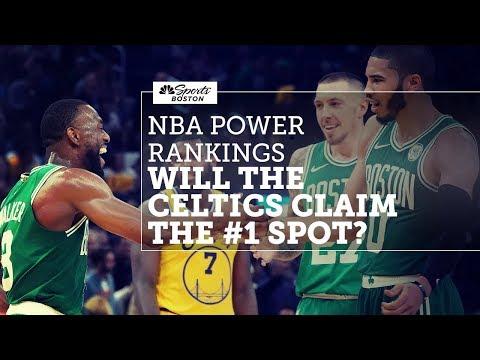 NBA Power Rankings: Will the Celtics claim the #1 spot? | Celtics Pregame Live | NBC Sports Boston