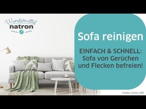 Sofa Reinigen Einfach Und Schnell Youtube