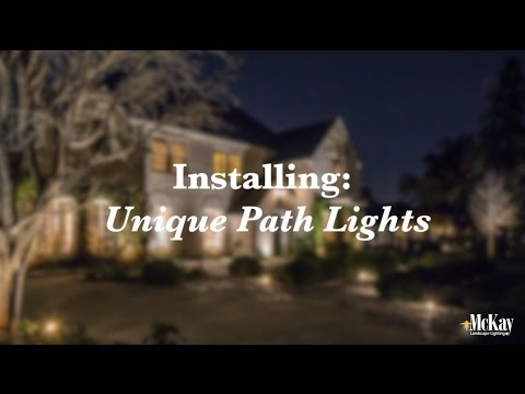 Unique Path Lighting | Behind the Scenes Installation | McKay Landscape  Lighting - Omaha Nebraska - Unique Path Lighting Behind The Scenes Installation McKay