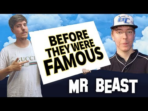 Mr Beast  Before They Were Famous  r Biography