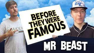 Mr Beast | Before They Were Famous | YouTuber Biography