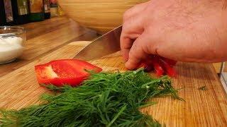 Израильский салат из кукурузы и шампиньонов. С Max Malkiel