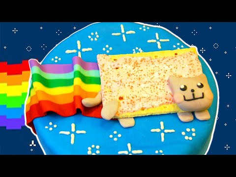 Generate NYAN CAT CAKE - NERDY NUMMIES Pictures