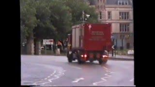 retro rare 2004 pump ciu responding merseyside fire brigade