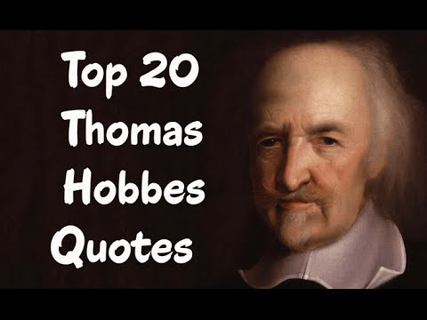 Thomas Hobbes Social Contract Quotes Top 20 Thomas Hobbes Quotes Author Of Leviathan  Youtube