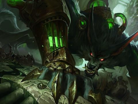 The Elder Scroll [Dark Elf]