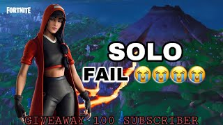 Solo Fail😭 - Fortnite Mobile Indonesia ( GiveAway Voucher All Game Mobile)