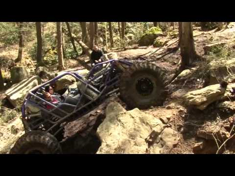 498 big block powered tube buggy on Rail Trail at Windrock OHV park in Oliver Springs