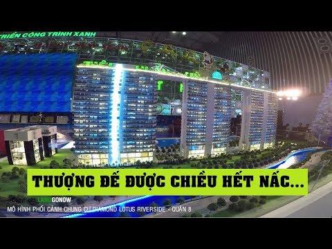 Mô hình phối cảnh dự án chung cư Diamond Lotus Riverside, Lê Quang Kim, Quận 8 - Land Go Now ✔
