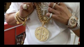 Franky Diamonds Miami Jeweler shows us how to Spot Fake Gold & the Difference in 10K, 14K & 24K Gold