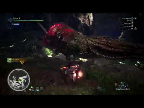 MHW - Bombs Only Tempered Deviljho Solo Kill (No Armor/Weapon usage/Mantles/Boosters/Palico)