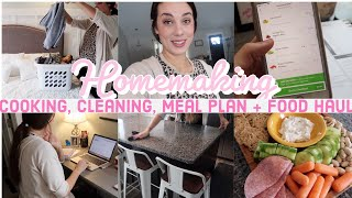 DAY IN THE LIFE OF A HOMEMAKER! (MOM OF 5) | Grocery Haul + EVERYDAY ROUTINE @This Mama's House
