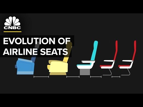 Airline Seats Really Are Shrinking | CNBC