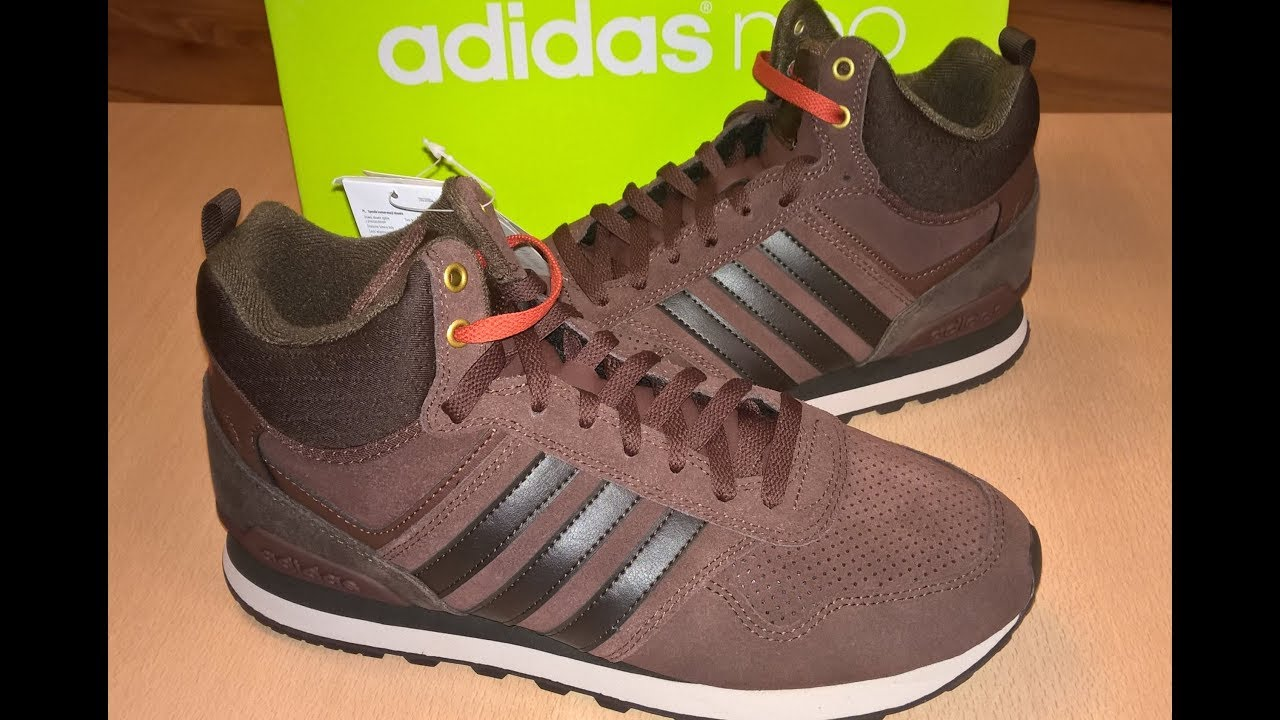 Unboxing butów shoes Adidas Neo 10XT WTR MID AW5266