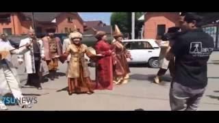 В Талдыкоргане состоялось сватовство  по казахским традициям