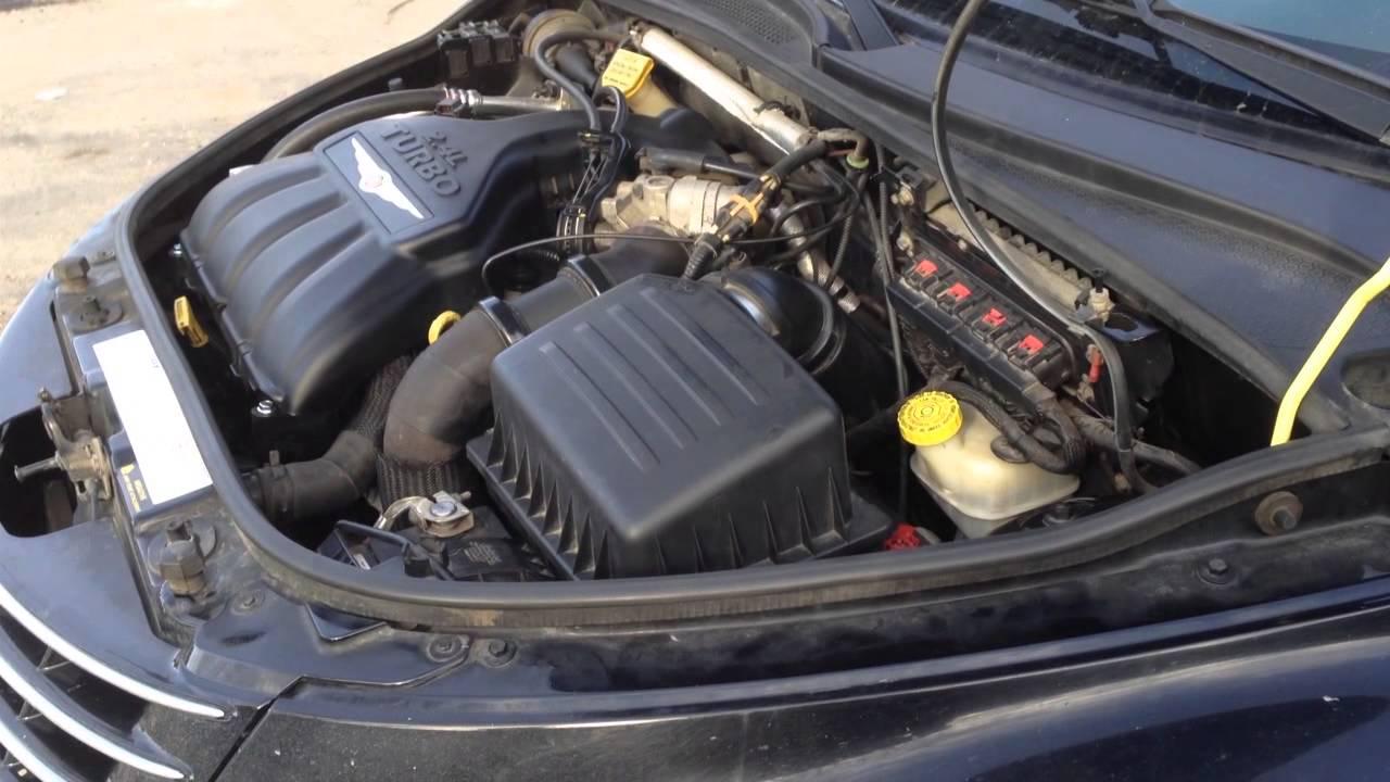 2005 Pt Cruiser Gt Motor Mounts Bad Youtube
