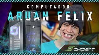 computador aruan montagem e testes em jogos i5 4440 gtx 960 8gb gabinete chipart