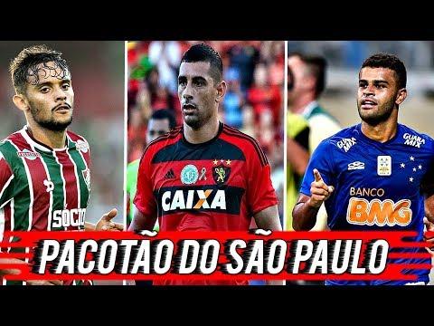 PACOTÃO DE REFORÇOS VINDO PARA O SÃO PAULO!!! - MERCADO DA BOLA #2