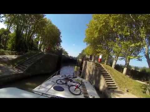 Pêche promenade  sur le Canal du Midi