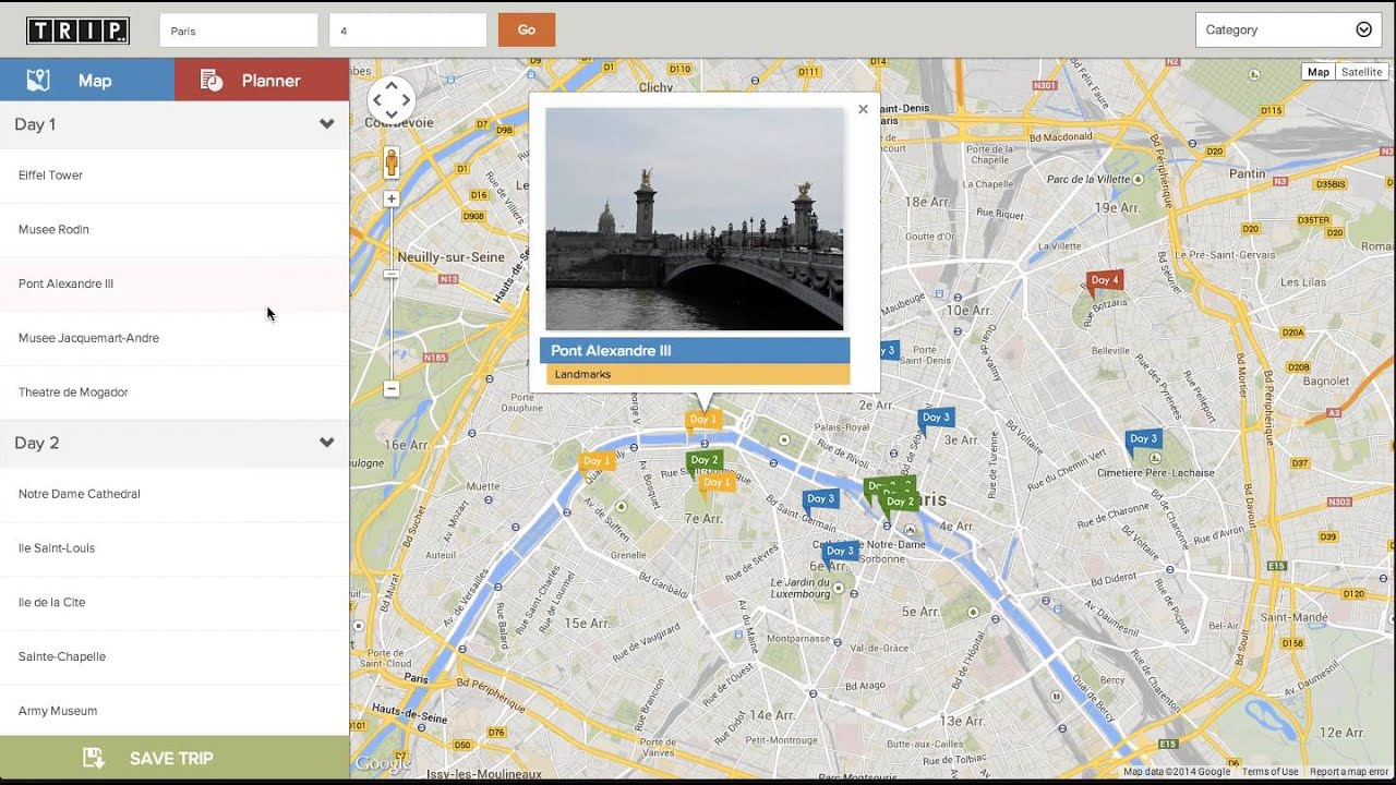 itinerary maker project youtube