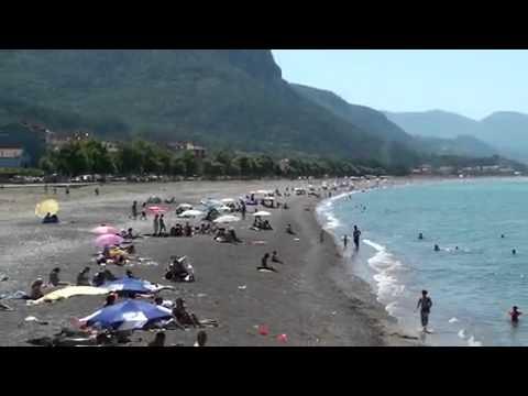 HD) kastamonu cide sahili   coast (black sea turkey)