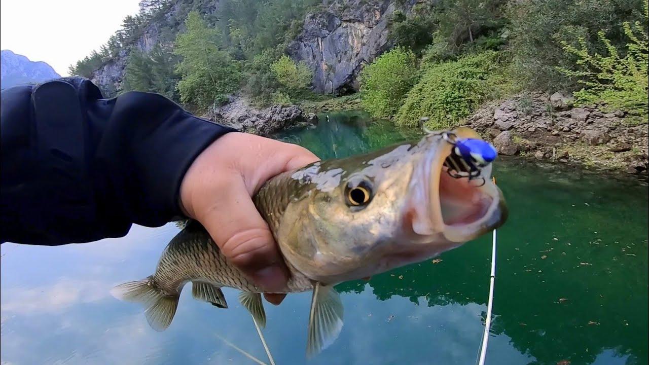 Doğa Harikası Gölde Harika Balıklar Yakaladık / Adrenalin Patlaması !!