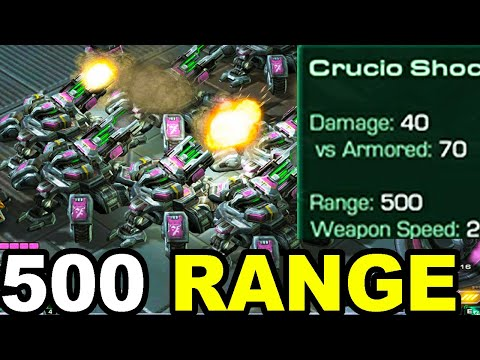 So I Increased The Range Of Siege Tanks To 500 And It Was A Nightmare Starcraft 2