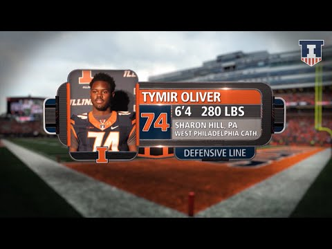 Tymir Oliver Highlights | @IlliniFootball Signing Day 2016