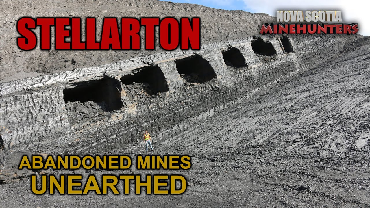 Ep 19 STELLARTON - Abandoned Coal Mines
