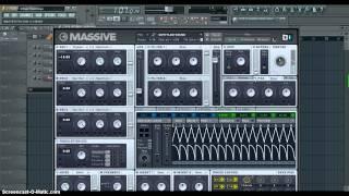 How to make a Riddim Bass [NI Massive]