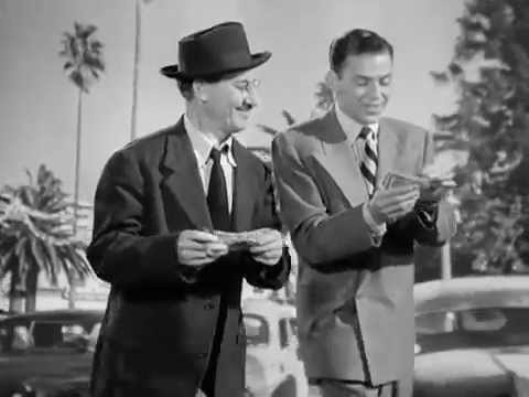 Groucho Marx and Frank Sinatra sing
