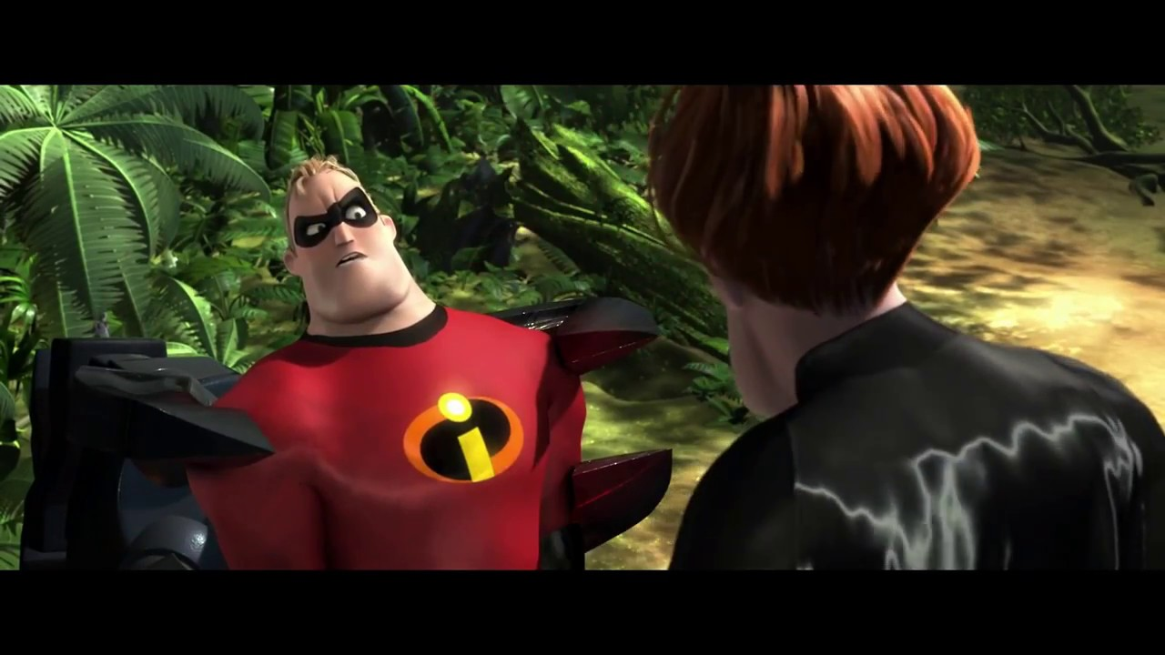 Mr Incredible Meets Syndrome Scene Full Hd Youtube