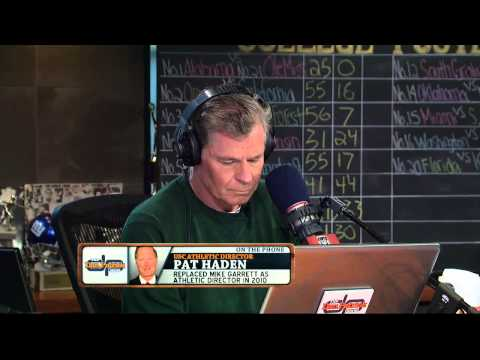 Pat Haden on the Dan Patrick Show 9/30/13