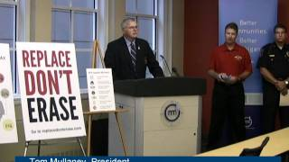 Tom Mullaney at Personal Property Tax Press Conference