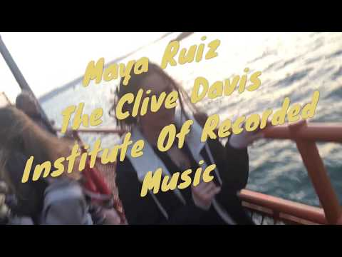 ACCEPTED - The Clive Davis Institute Of Recorded Music