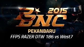 PBNC 2015 Final Lokal W3 : Pekanbaru - FFPS RAZER DTW 186 vs Wast7