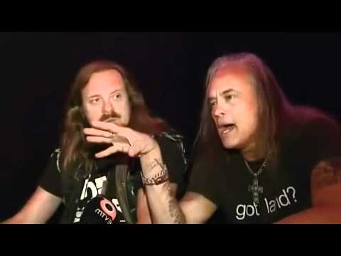 Johnny Van Zant & Rickey Medlocke -Lynyrd Skynyrd- MTV3 interview (2009) part 2
