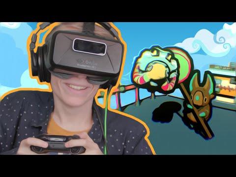 VIRTUAL REALITY PLATFORM GAME! | Lollihop VR (Oculus Rift DK2 Gameplay)