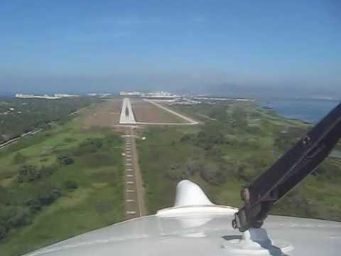 King Air Landing Acapulco Mexico