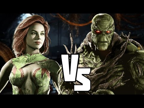 Injustice 2 Poison Ivy Vs Swamp Thing