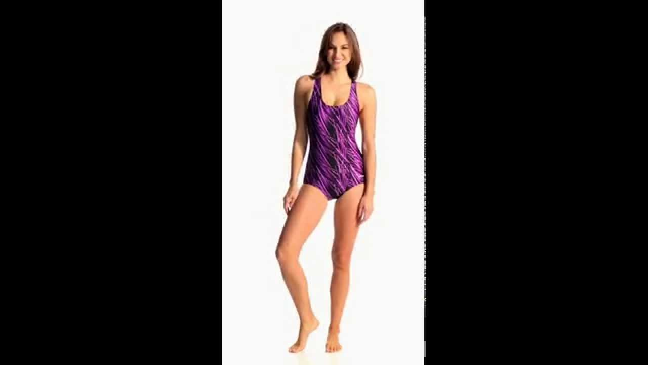 e3f21d3934433 Dolfin Stormy One Piece Lapsuit | SwimOutlet.com - YouTube