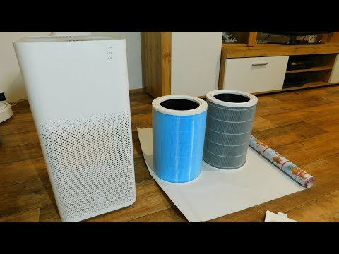 Xiaomi Mi Air Purifier 2 - filter checking and cleaning - after 6 months of use - Gearbest.com